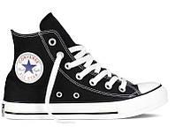 Кеды Converse All Star высокие Replica (реплика) черные