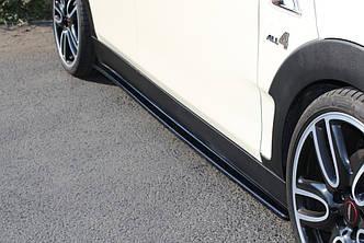 Диффузоры порогов накладки тюнинг Mini Cooper Clubman F54