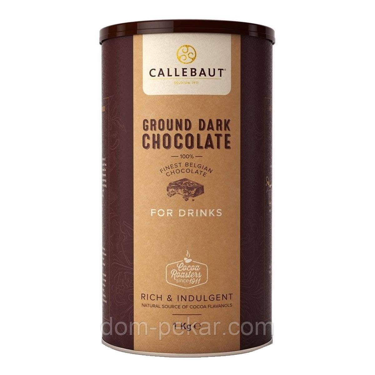Шоколад Callebaut темный для напитков CHD-X5226, 1 кг