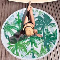 Пляжный коврик Пальмы ( 150 см)