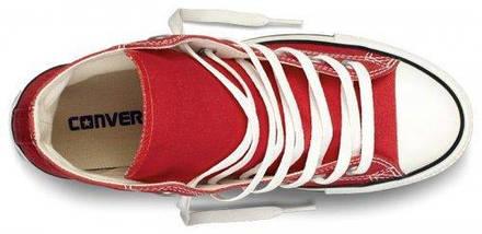 Кеды Converse All Star высокие Replica (реплика) красные, фото 3