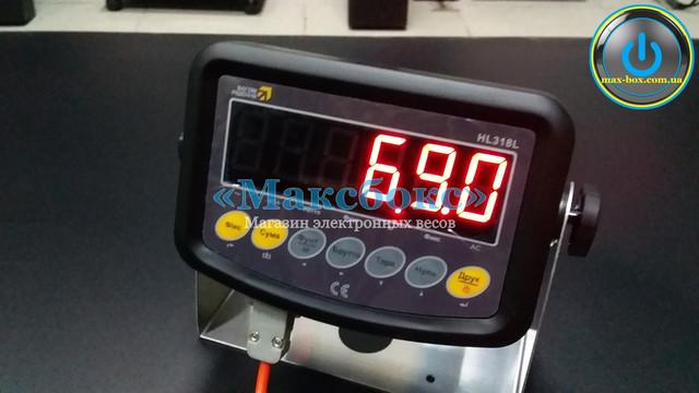 Электронные весы для склада