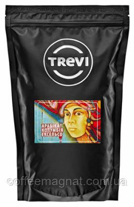 Кофе в зернах Trevi Колумбия Эксельсо (100% арабика) 1 кг
