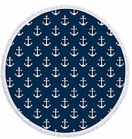 Пляжный коврик Якоря ( 150 см)