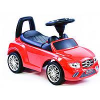 Машина-толокар Joy R-0001 з багажником, червоний
