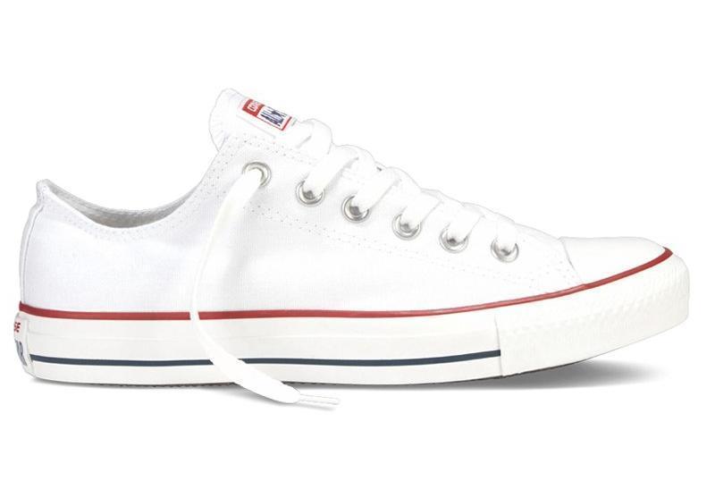 Кеды Converse All Star низкие Replica (реплика) белые