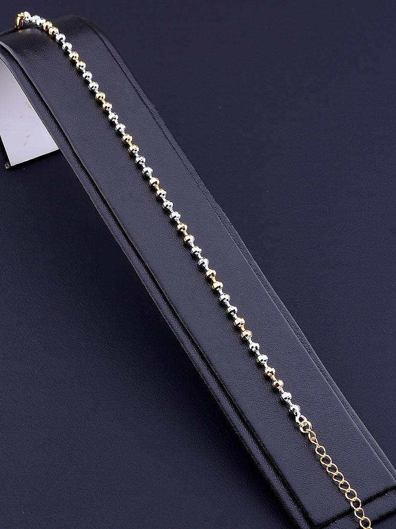 Браслет XUPING 17 сантиметров длина  позолота родий