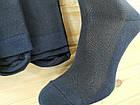 Носки мужские с сеткой летние Класик г. Черкассы 25 размер высокие хлопок синие НМЛ-06558, фото 5