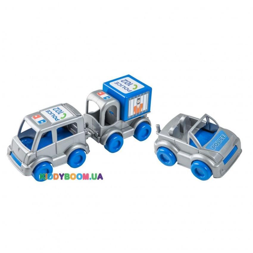 Набор машинок Полицейский Kid Cars Тигрес 39548