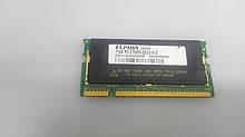 Пам'ять для ноутбука ddr 1gb PC2700 SODIMM ELPIDA