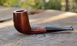 Деревянная трубка для курения табака прямая KAF230 не под фильтр, фото 3