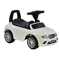 Машина-толокар Joy R-0088 з багажником, білий