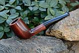 Деревянная трубка для курения табака прямая KAF230 не под фильтр, фото 6