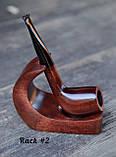 Деревянная трубка для курения табака прямая KAF230 не под фильтр, фото 9