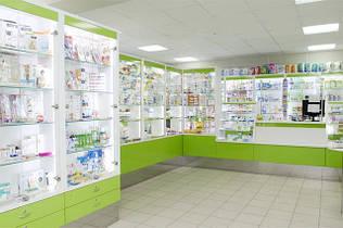 Меблі для аптек