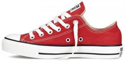 Кеды Converse All Star низкие Replica (реплика) красные, фото 2