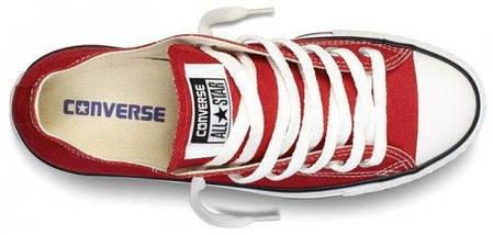 Кеды Converse All Star низкие Replica (реплика) красные, фото 3