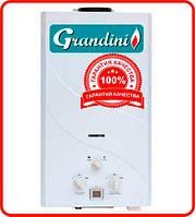 Газовая колонка Grandini GWH JSD20 A1 / 10 л/мин / медный теплообменник