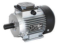 Электродвигатель трехфазный АИР 71 А2 (0,75кВт/3000об/мин) 220/380В крепление на лапах (1081)