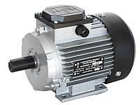 Электродвигатель трехфазный АИР 71 В4 (0,75кВт/1500об/мин) 380В, 220/380В крепление на лапах (1081)
