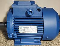 Электродвигатель трехфазный АИР80А2 (1,5кВт/3000об/мин) 380В, 220/380В