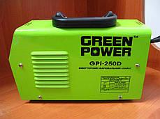 Інверторний зварювальний апарат Green Power GPI-250D, фото 2