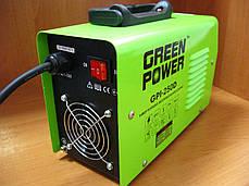 Інверторний зварювальний апарат Green Power GPI-250D, фото 3