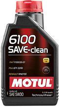 841611/6100 SAVE-CLEAN 5W30 1L/107960