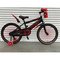 """Велосипед TopRider 869 20"""" красный детский двухколесный с бутылочкой, фото 1"""