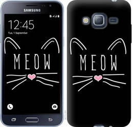 "Чехол на Galaxy J3 Duos (2016) J320H Kitty ""3677c-265-328"""