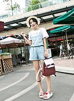 Стильный рюкзак. Модный рюкзак. Современный рюкзак. Женский рюкзак. Код:КРСК169, фото 1