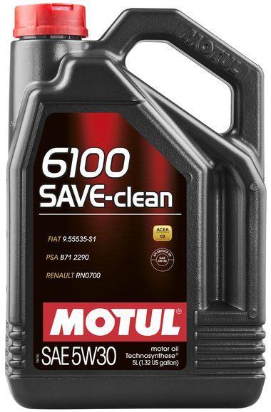 841651/6100 SAVE-CLEAN SAE 5W30 (5L)/107968