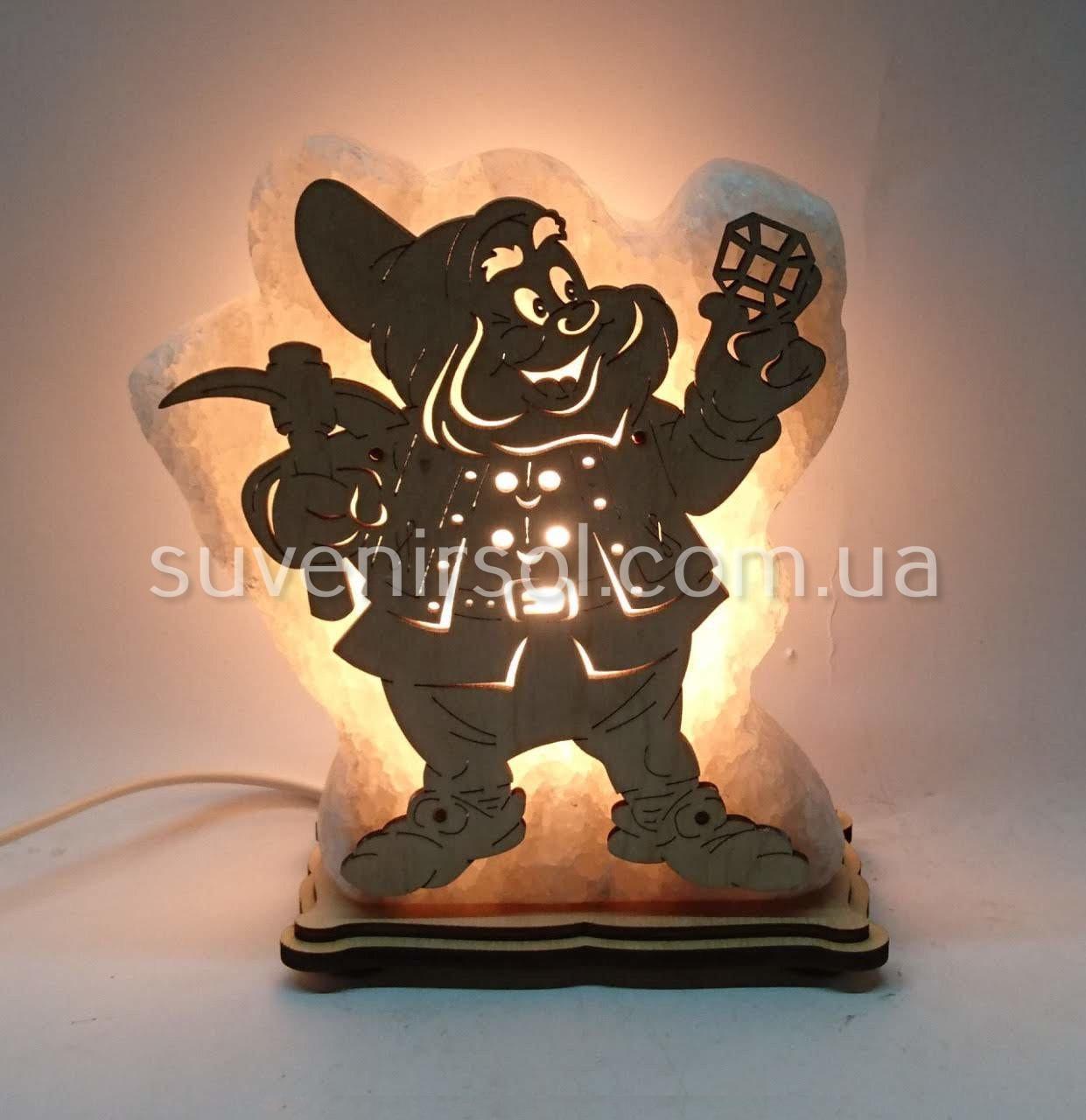 Соляной светильник Гном 2