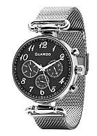 Часы женские Guardo 11221-1 серебряные