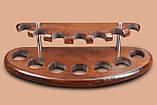 Подставка из ясеня для 7 трубок, фото 4