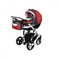 Детская универсальная коляска 2 в 1 Angelina Sirius Turbo Drop (1241010043-красная)