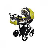Детская универсальная коляска 2 в 1 Angelina Sirius Turbo Drop (1241010043-салатовая)