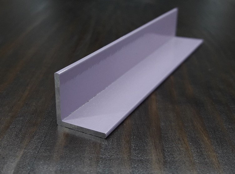 Уголок алюминиевый 15х15х1,5, розовый
