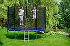Батут FunFit 312 см для детей и взрослых с защитной сеткой и лестницей, фото 6