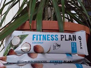 FITNESS PLAN КОКОС 25 грамм ( кокос+изюм+пластивци кукурузные)