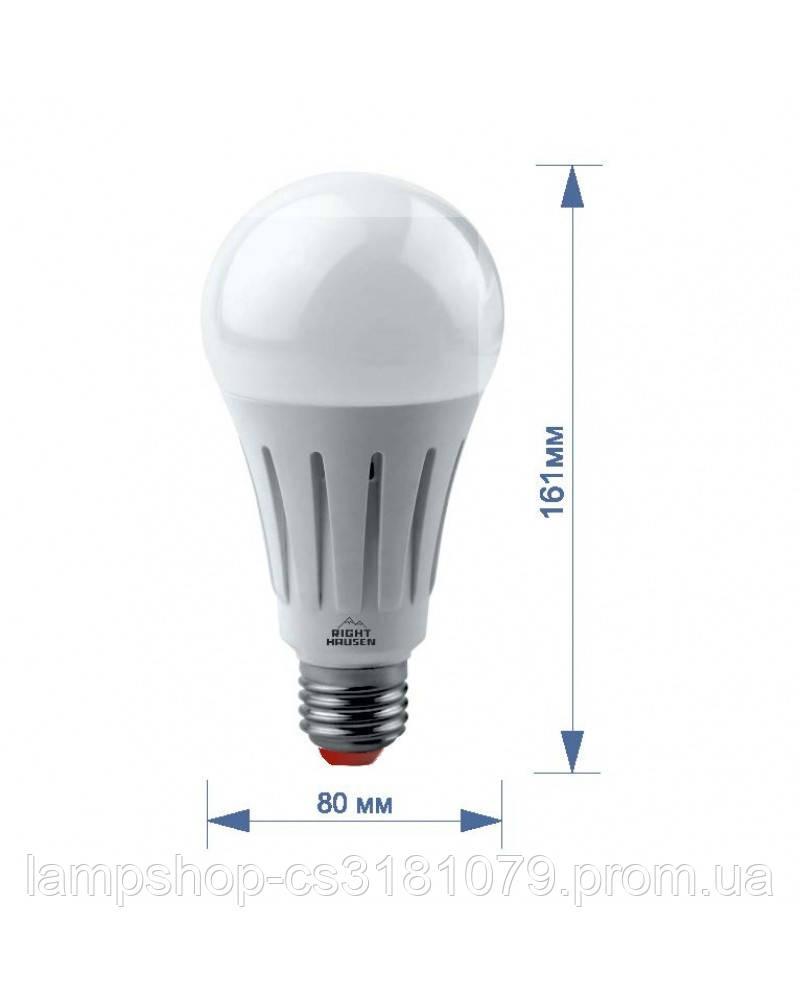 Лампа RIGHT HAUSEN LED Standard A80 22W E27 4000K HN-151110