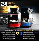 Протеин 100% Gold Standard Casein (1,8 кг) Optimum Nutrition, фото 3