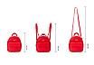 Рюкзак женский мини сумка Forever Young Classic Черный, фото 3