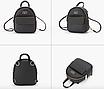 Рюкзак женский мини сумка Forever Young Classic Черный, фото 2