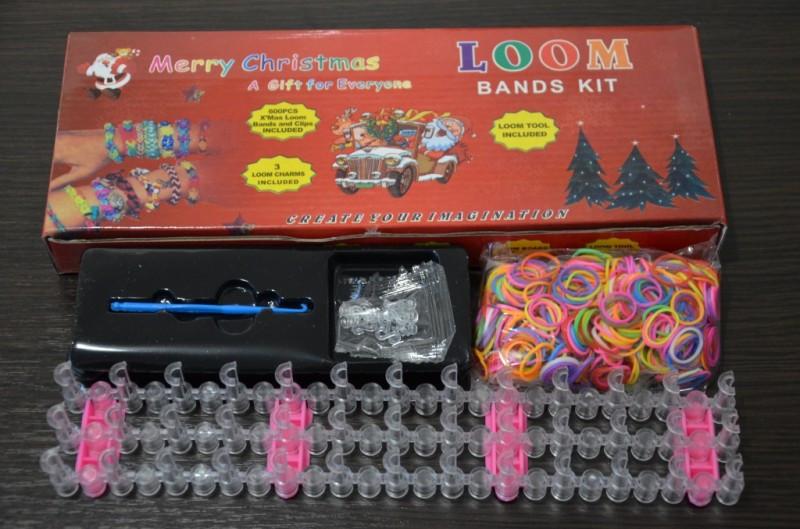 Резиночки для плетения браслетов Loom Bands 600шт. Хит продаж.