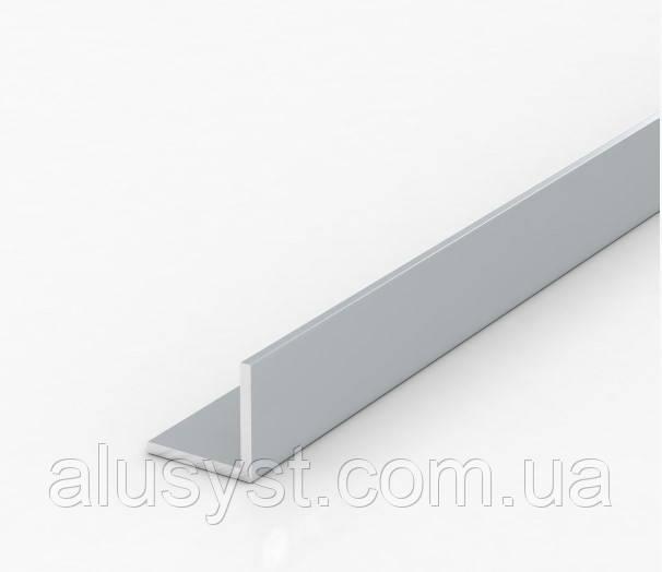 Уголок алюминиевый 15х15х1,5, серый