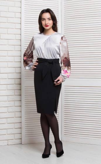 Блуза BerdToni Цветана бежевая 8997-2