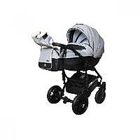 Детская универсальная коляска 2 в 1 Angelina Phaeton black star Comfort (1241010046-серая)