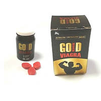 """Препарат для потенції """"Золота таблетка"""" таблетки для чоловіків Gold, фото 1"""
