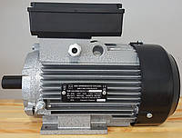 Электродвигатель однофазный АИ1Е 71 А2 (0,75 кВт / 3000 об/мин) 220В